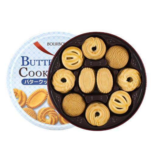 【中粮海外直采】Bourbon波路梦什锦黄油味曲奇饼干297g(新旧包装随机)