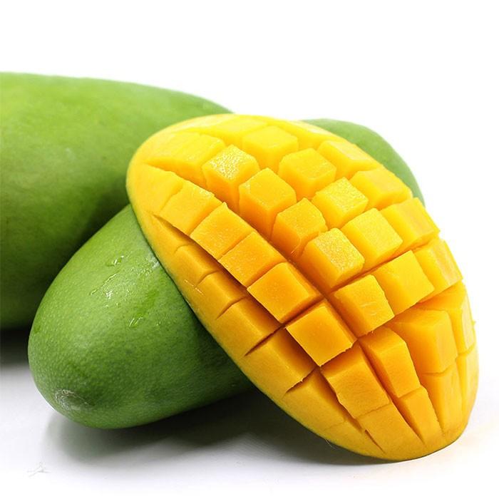 新鲜水果越南玉芒果肉细腻香甜爽口5斤装单果200g起