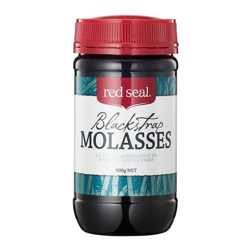 新西兰Red Seal红印黑糖 舒缓女性经期不适 500g(4瓶装)