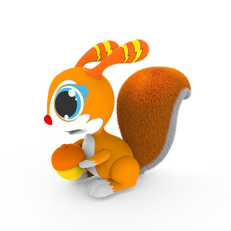 实丰跳跳鼠普通版橙色