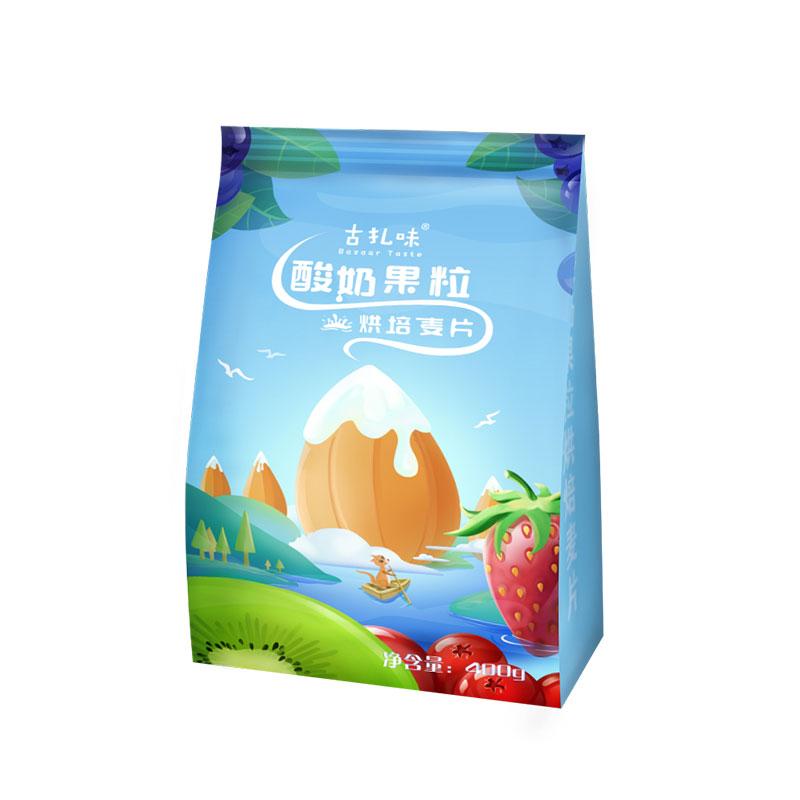古扎味水果坚果燕麦片500g 即食营养麦片 营养早餐 罐装