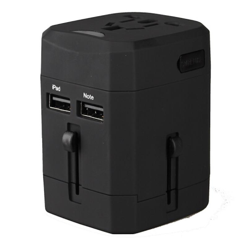 恩谷EG-601 超能 双USB口全球转换插头