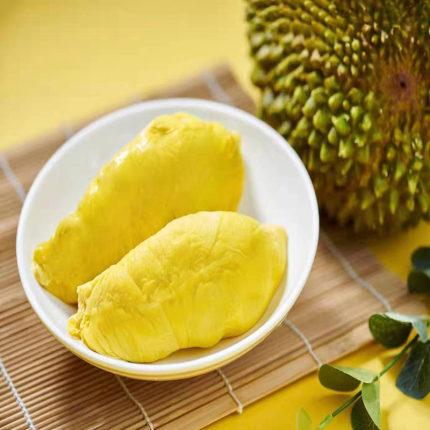 马来西亚猫山王D197榴莲液氮果5-5.5斤整果(收到即食无需催熟)顺丰空运