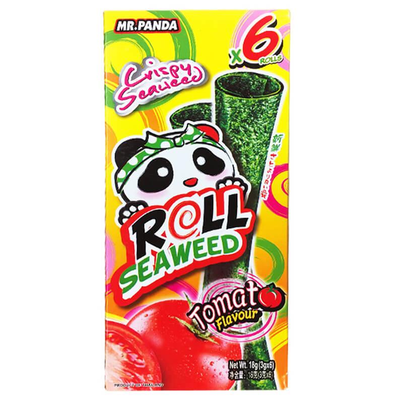 熊猫先生番茄味调味海苔卷