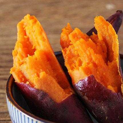 福建六鳌蜜薯新鲜红心小地瓜中果5斤装