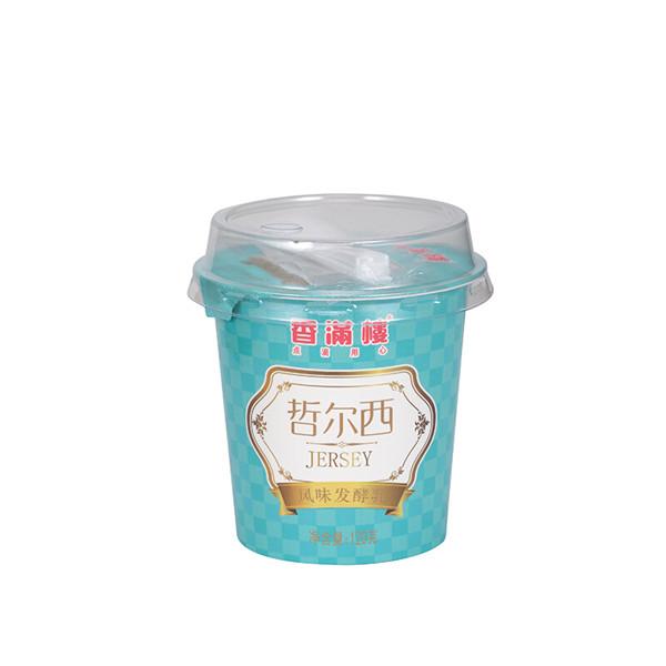 香满楼 哲尔西 凝固型发酵乳酸奶120g*24家庭箱装【京东冷链发全国 】