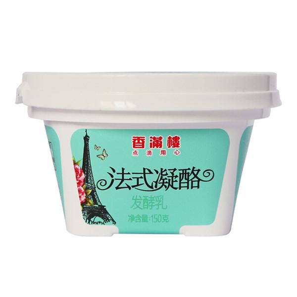 香满楼 法式凝酪发酵乳酸奶 凝固型  150g*3 【京东冷链发全国 】