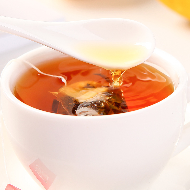 蒲草茶坊 柠檬红茶 60g/盒*2 花草茶柠檬红茶三角包独立小包组合水果茶袋泡茶