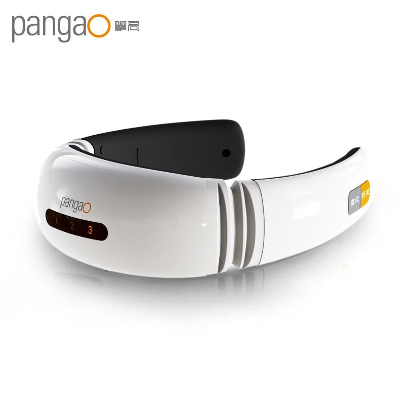 攀高(PANGAO)颈椎按摩器 颈椎按摩仪颈部脉冲按摩按摩枕经络按摩仪脉冲针灸护颈仪 PG-2601B21