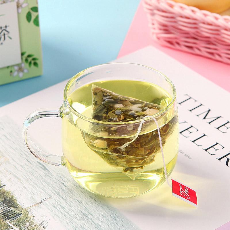 蒲草茶坊 风味组合茶 花草茶组合风味三角包袋泡茶花果茶包袋泡茶80g/盒*2