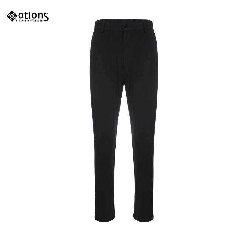 MOTLONS 蒙特伦斯 男款 休闲裤 黑色 商务休闲 夏季款 标准版型 常规 130K191009