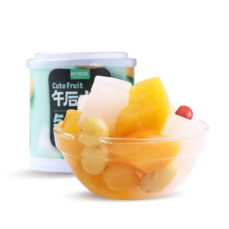 三只松鼠24h零食_午后水果(什锦水果罐头)200g*2