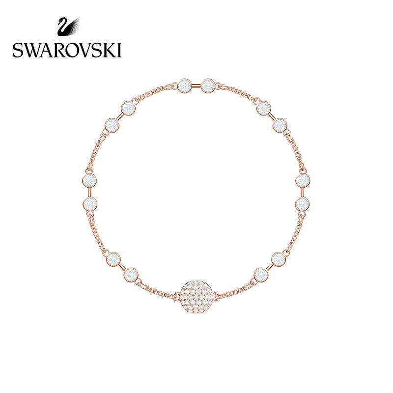 施华洛世奇SWAROVSKIREMIX隐形磁扣手链(玫瑰金)5435651
