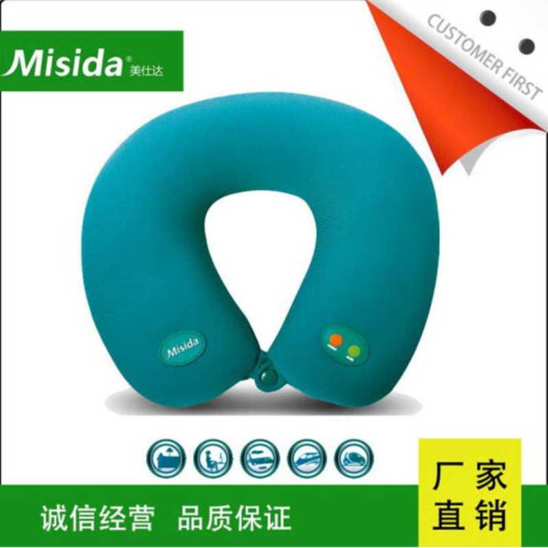 美仕达 颈椎好按摩枕 MS-J8102 绿色