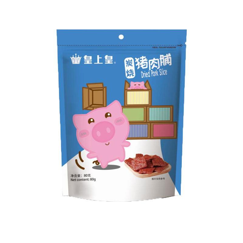 皇上皇炭烧猪肉脯(卡通版)80g×2
