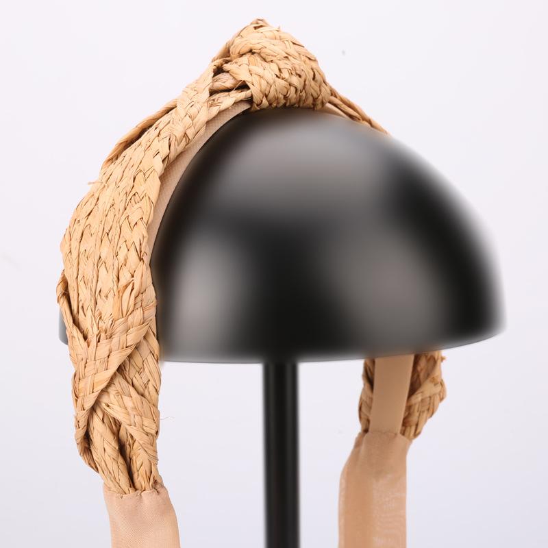 诗丹凯萨拉菲草编织头饰品发箍批发韩版高端气质网红发卡头箍TS088(0-6)