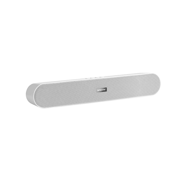 沃品(WOPOW) AP06无线蓝牙音箱家用低音炮手机小巧小音响 白色