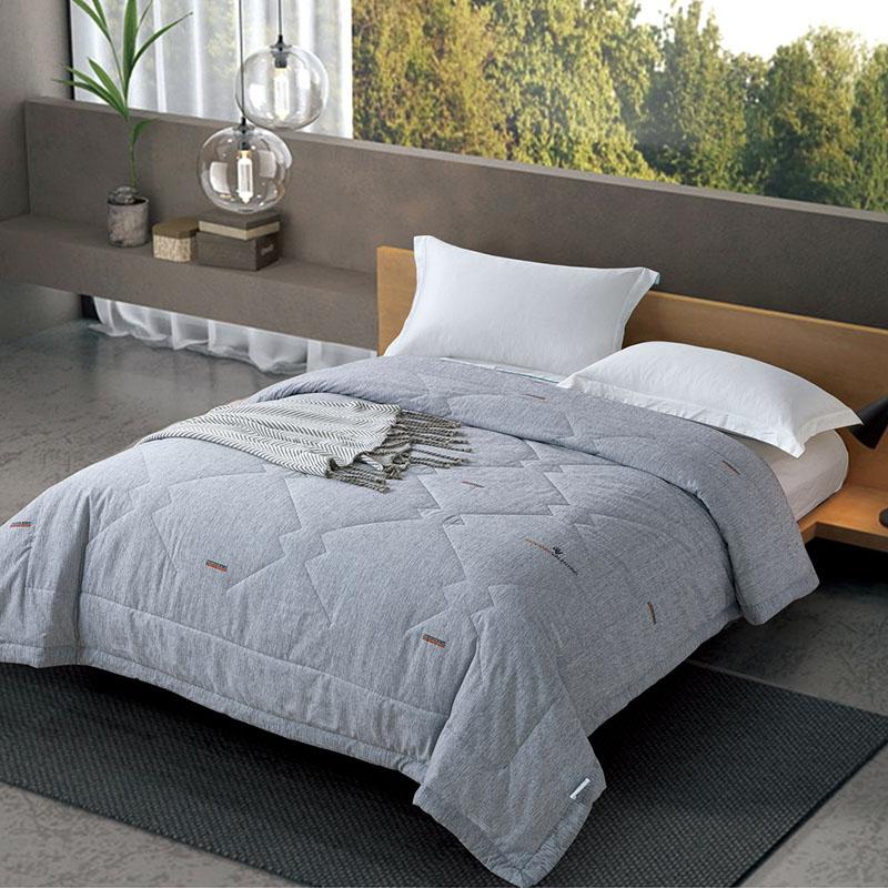 卓凡尼华伦天奴家纺居家床上用品艾草防蚊养生被GV6154BZ