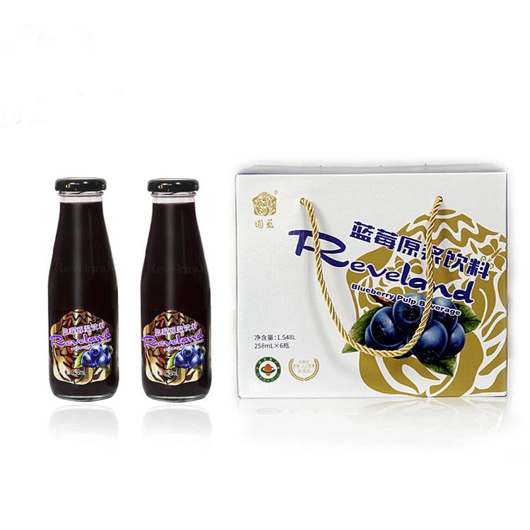 园蓝原浆饮料(258ml*6瓶)