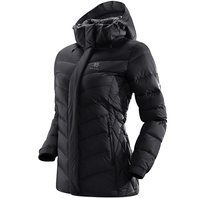 Kailas 凯乐石 户外运动 女装中长款加厚羽绒外套 KG320173