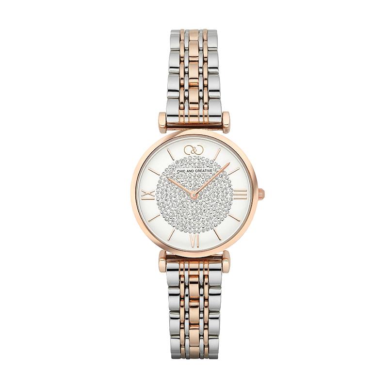 C&C手表正品防水满天星女表CC6035