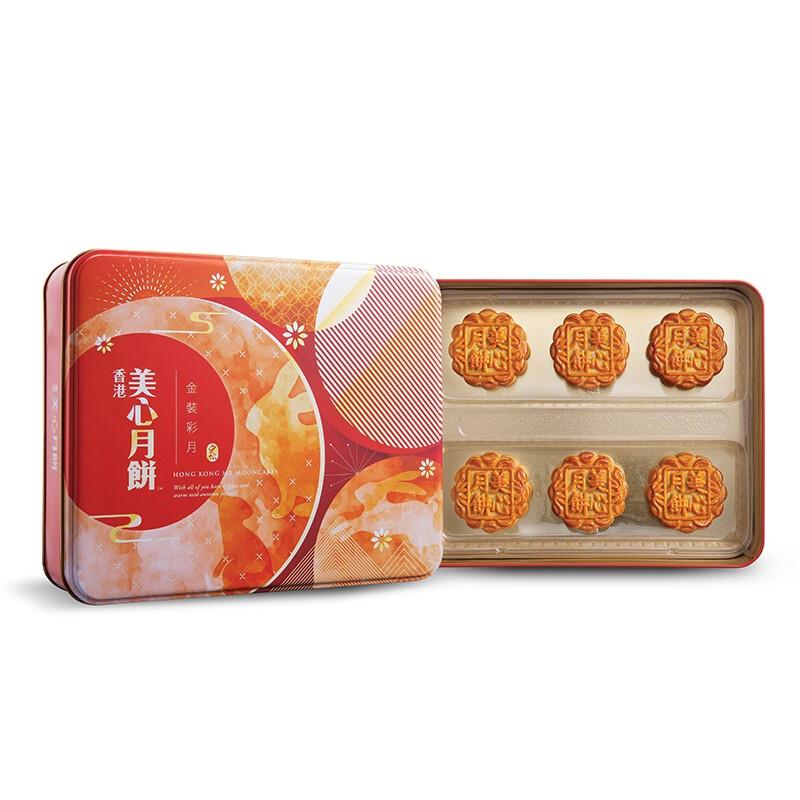 美心金装彩月礼盒装月饼420g(预售8月30日发货)