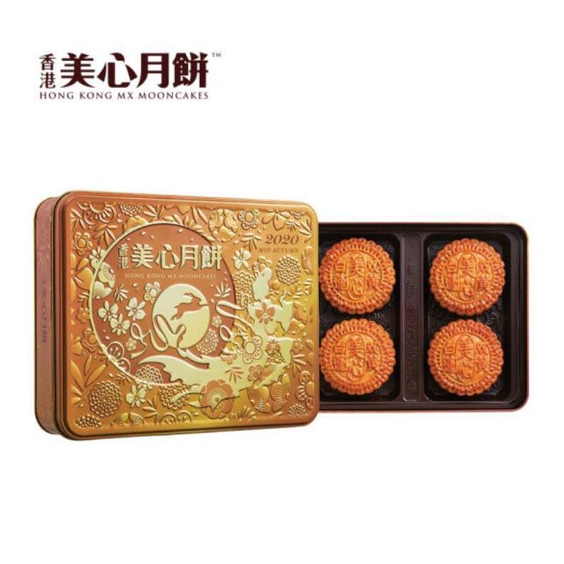 美心双黄白莲蓉月饼740g(预售8月30日发货)