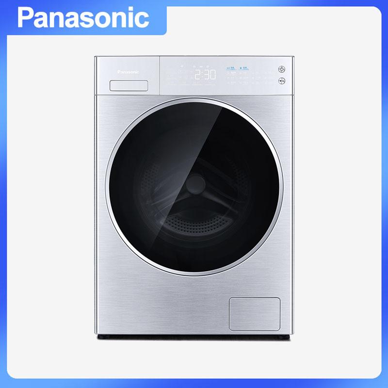 松下(Panasonic) XQG100-L165 滚筒洗衣机 除菌智能WIFI全自动 10.0kg