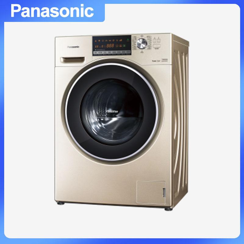 松下(Panasonic) XQG90-E9536 滚筒洗衣机 专利泡沫发生技术节能导航变频技术X钻形内筒三维立体洗 9.0kg