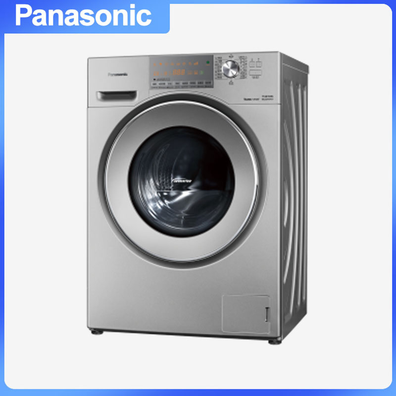 松下(Panasonic) XQG90-E955H 滚筒洗衣机 专利泡沫发生技术节能导航变频技术X钻形内筒三维立体洗 9.0kg