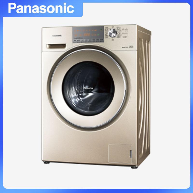 松下(Panasonic) XQG100-E155C 洗衣机 专利泡沫发生技术节能导航变频X钻形内筒三维立体洗 10.0kg