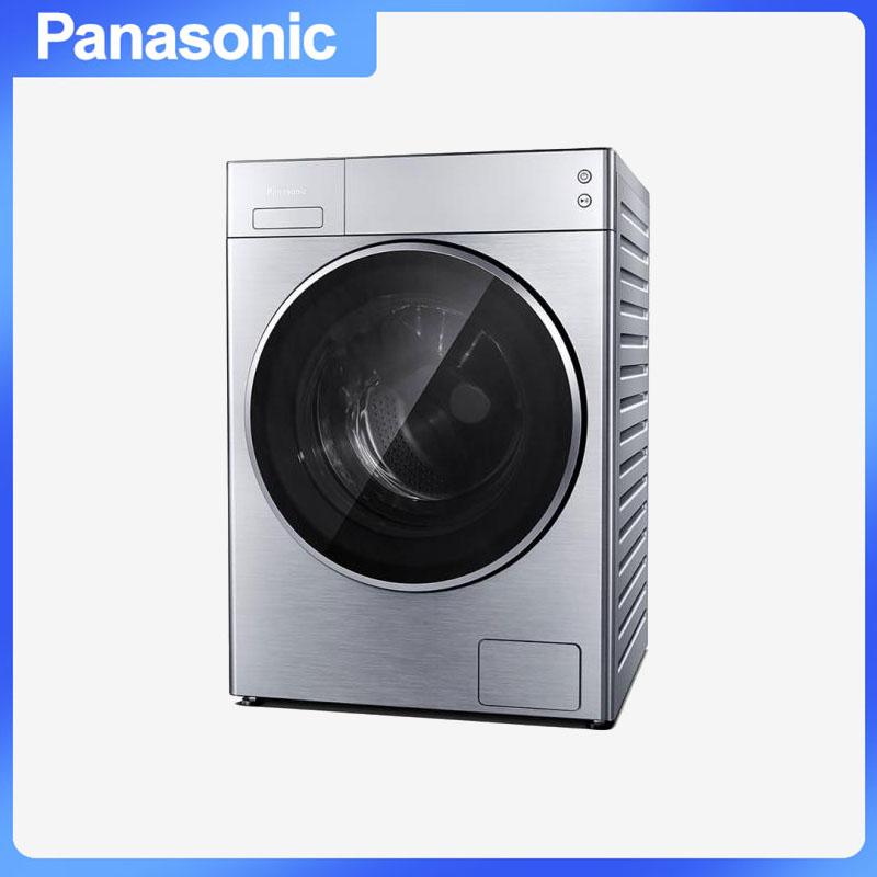 松下(Panasonic) XQG100-L166 滚筒洗衣机 大口径智能化洗涤APP操控三维立体清洗更彻底 10.0kg