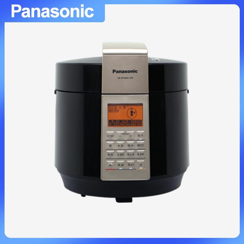 松下(Panasonic) SR-PFG601-KN 电压力锅 16重安全保障2.0三段压力选择人性化设计滑动式 黑色