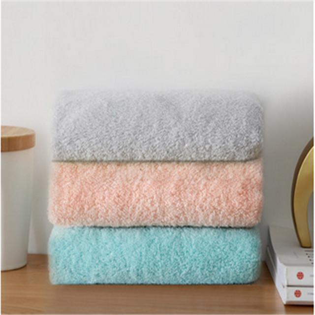 (三条装)uchino内野素色典雅面巾纯棉毛巾柔软洗脸家用全棉男女加厚儿童巾