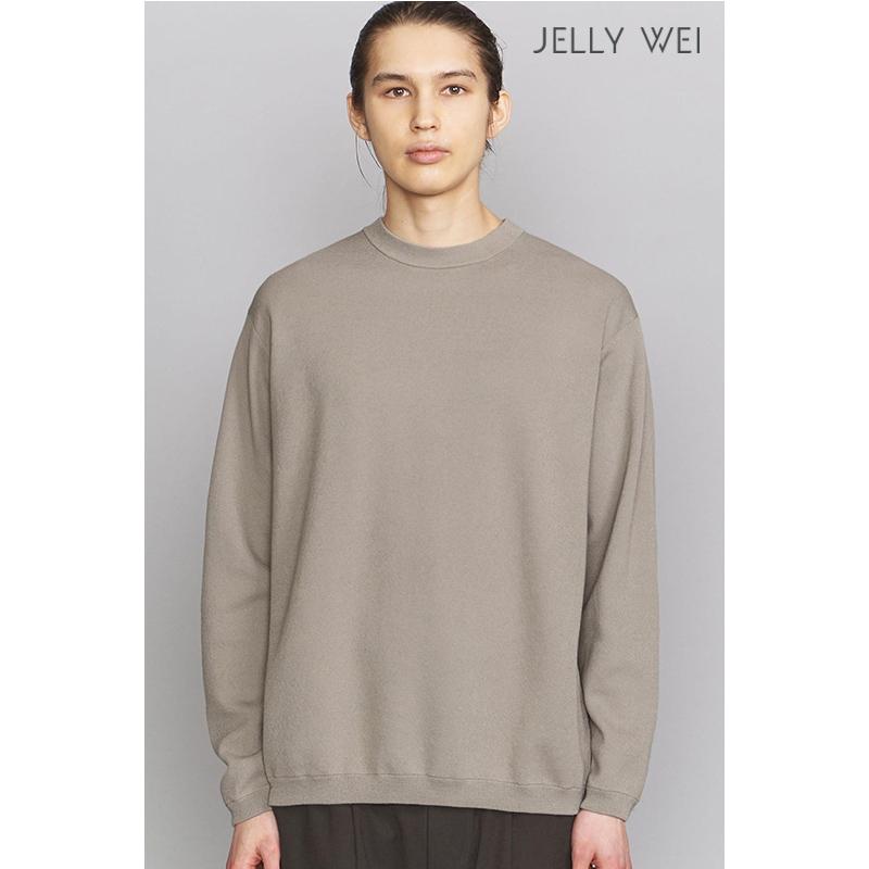 秋季 新款 JELLY WEI 原创设计师品牌 圆领毛衣 舒适 亲肤 男装