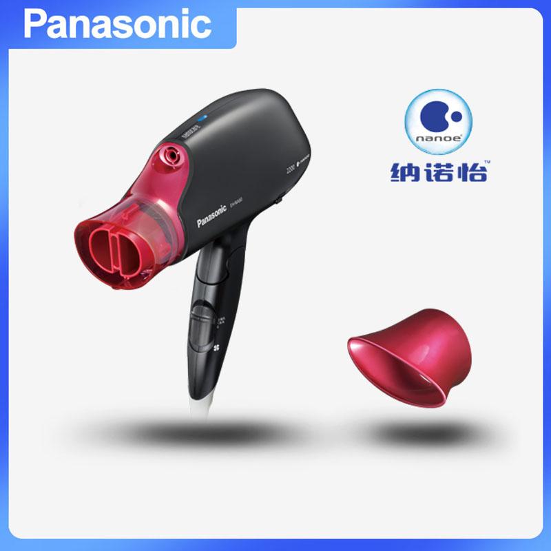 松下(Panasonic) EH-NA61-K405 电吹风 女士家用寝室大功率冷热风不伤发静音学生 黑色