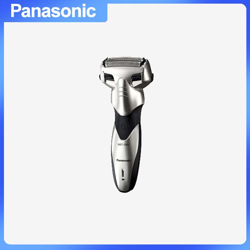 松下(Panasonic) ES-SL33-S405 新米兰系列剃须刀 充电式浮动三刀头干湿两用水洗 银色